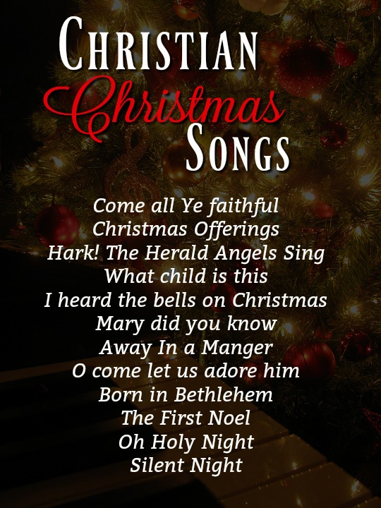 Christian Christmas.Top Christian Christmas Songs Christmas Celebration All