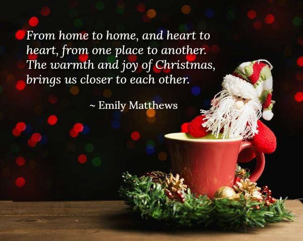 With These Christmas Quotes That Are Related To Family, You Can Feel The  Christmas Season Even More. Share These Christmas Quotes For Family To Your  Friends ...