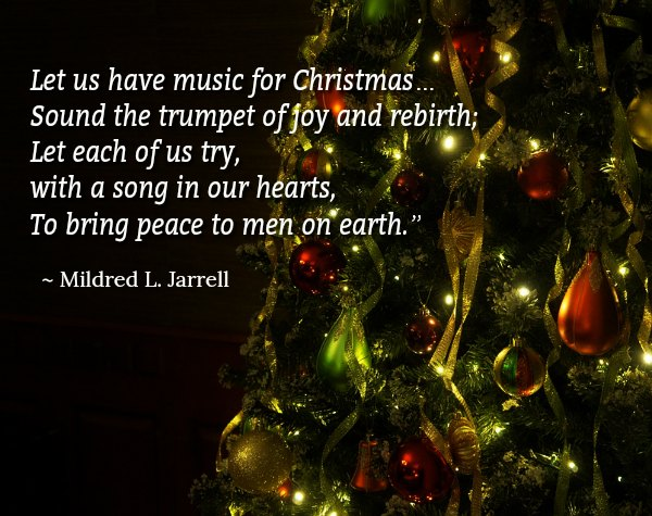 Christmas love song quotes