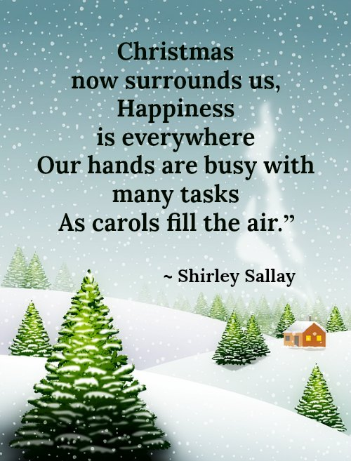 get inspired with these inspiring christmas quotes christmas is all about sharing and giving so take advantage of the season and share the good vibes by - Christmas Decoration Quotes