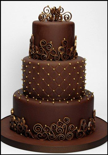 chocolate-cakes-for-christmas-wedding