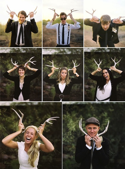 be antlers for christmas card