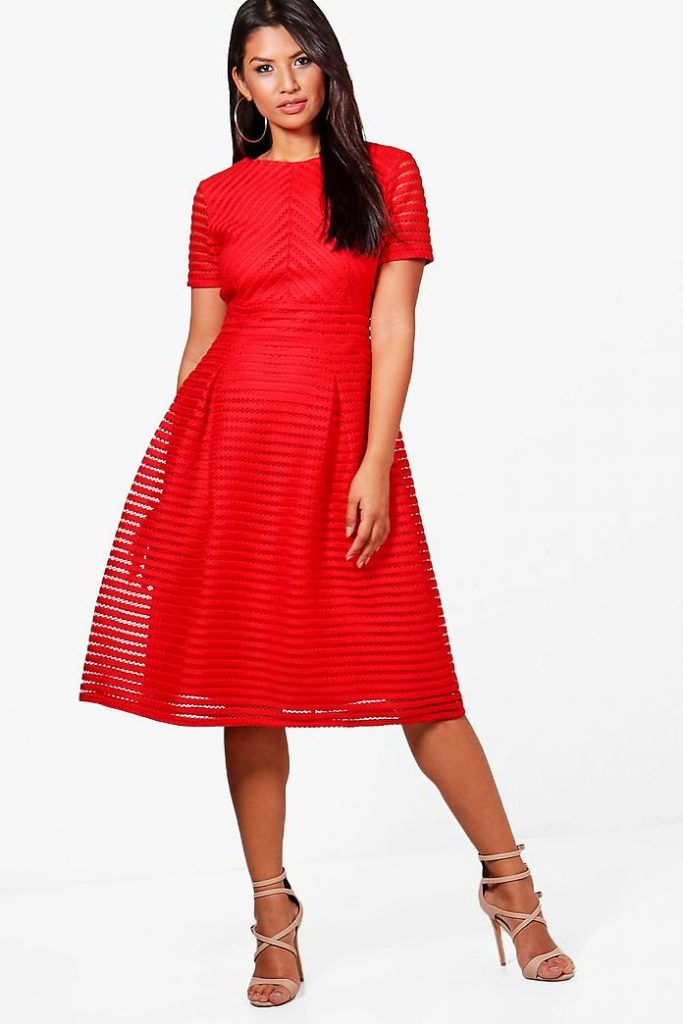 A Red Dress: What To Wear To A Christmas Party