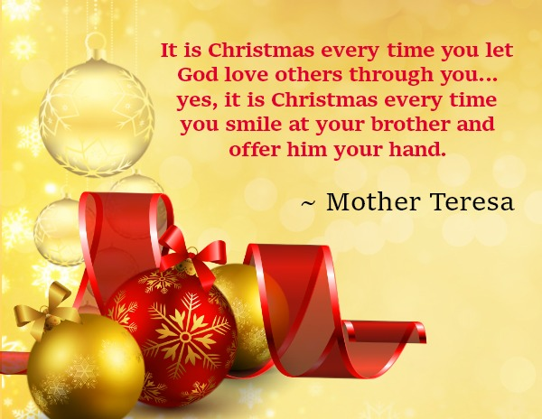 The 45 Best Inspirational Merry Christmas Quotes Of All: Top Inspirational Christmas Quotes With Beautiful Images