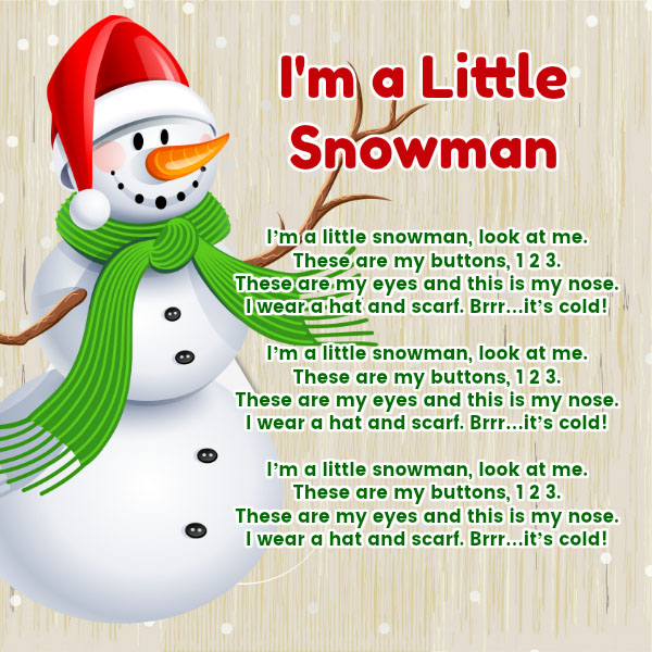 another snowman song and yet another learning song for toddlers to help with their vocabulary super simple and super easy