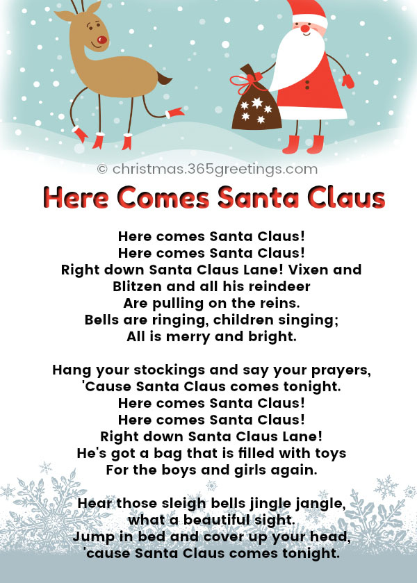 Christmas songs for preschoolers With Actions