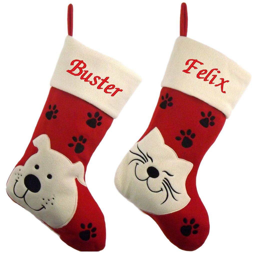 Personalized Christmas Stockings For Cats