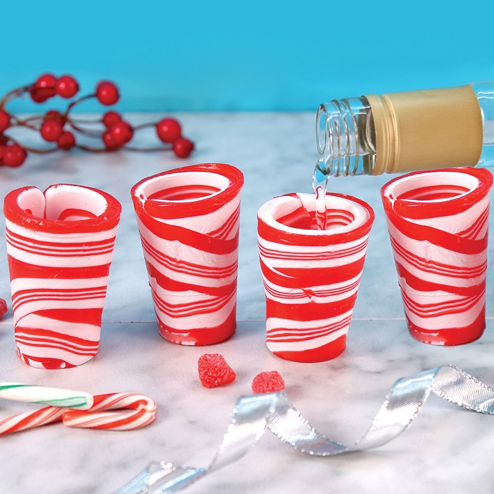 candy cane shots game christmas drinking games - Christmas Candy Games