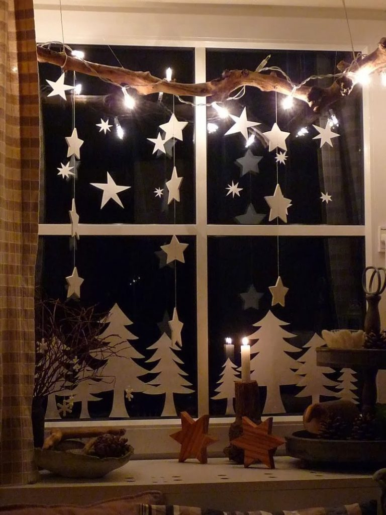 Christmas Window Lights: Decoration And Ideas - Christmas Celebration - All about Christmas
