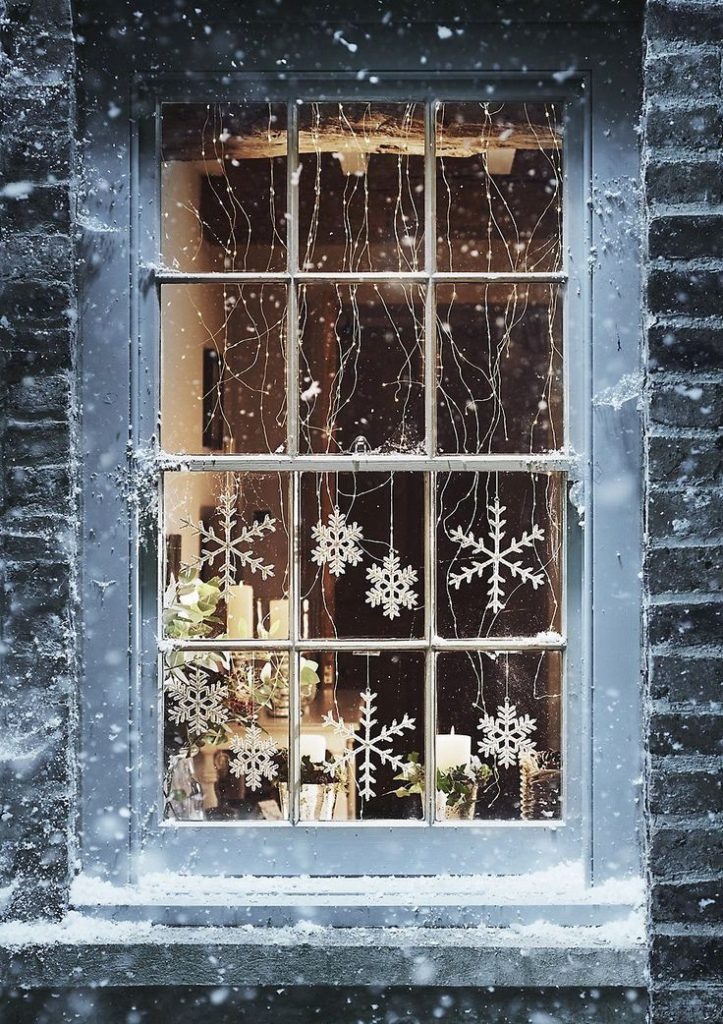 Christmas Window Lights Decoration And Ideas Christmas