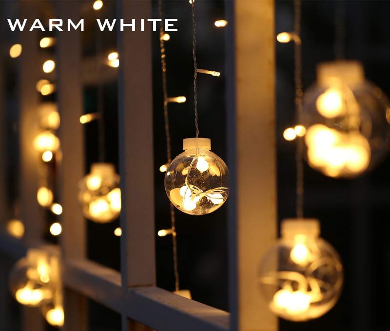 Christmas window lights decoration and ideas christmas - Indoor string light decoration ideas ...