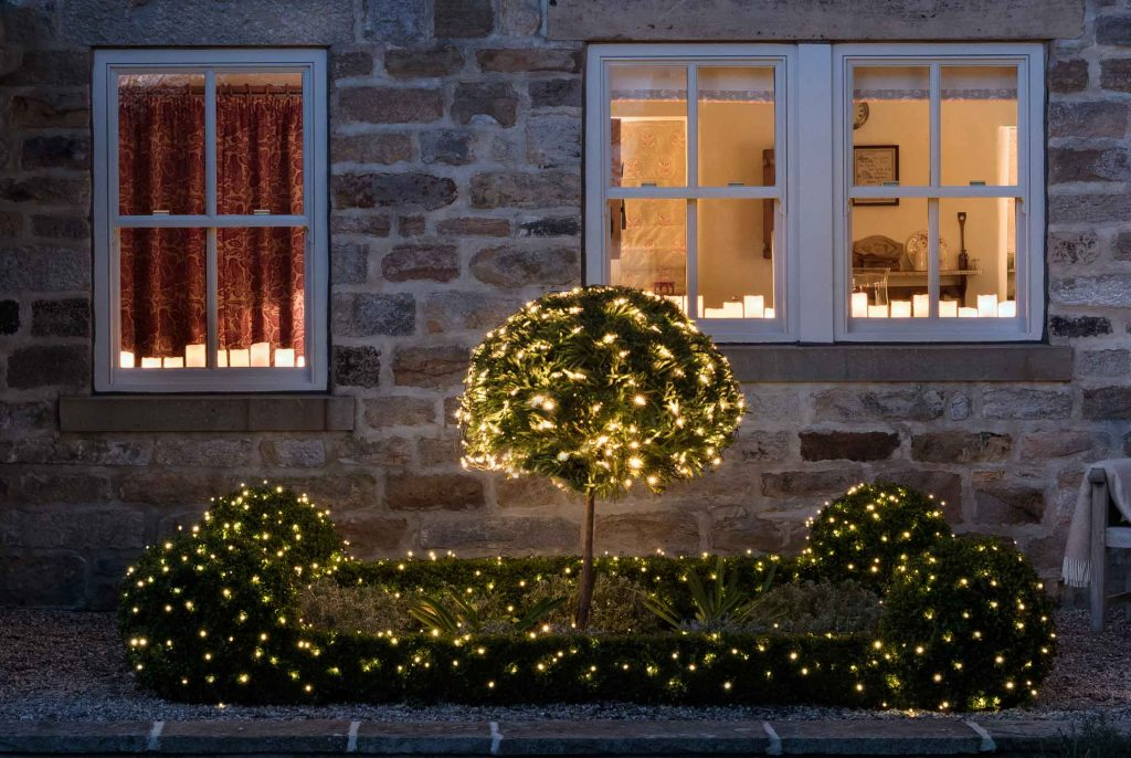 how about lining your window sill with a real or artificial candle dont you think it will give an inviting glow to your house - Christmas Window Sill Decorations Ideas