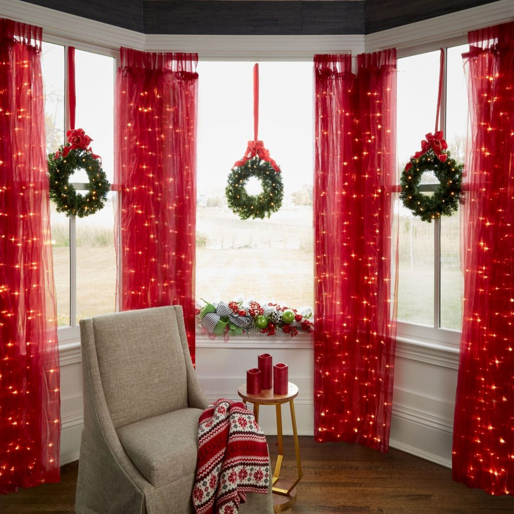 Decoration Ideas: Christmas Window Lights: Decoration And Ideas