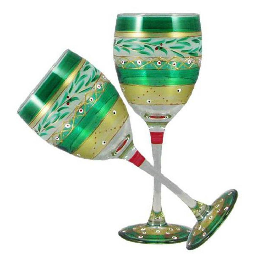 25 Prettiest Christmas Wine Glasses - Christmas Celebration - All ...