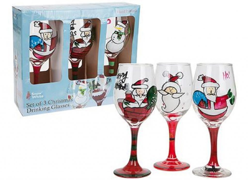 Christmas Drinking Glasses
