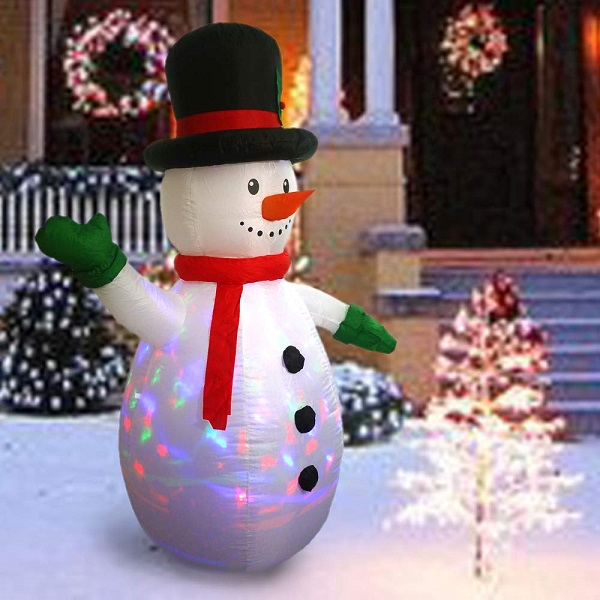 Out Door Christmas Snow man Amazon