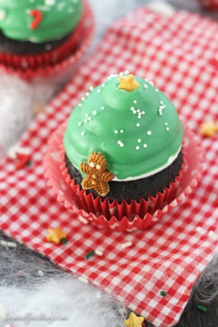 40 Delectable Christmas Tree Cupcakes Recipes And Ideas