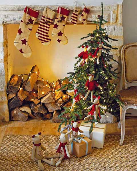 country christmas decorations 01