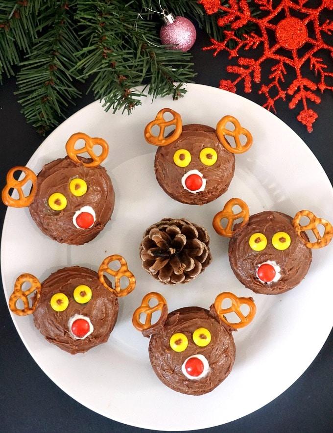 Reindeer Cupcake Recipes