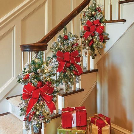 christmas decorations for stairs 01