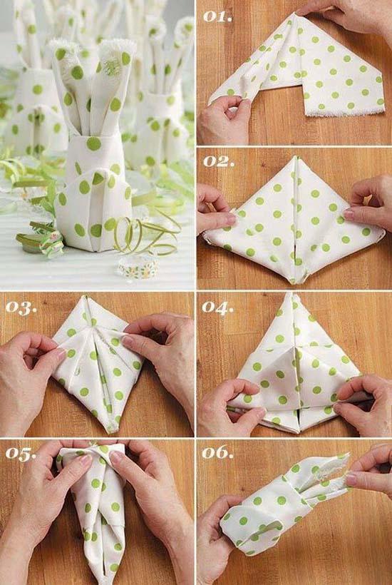 Christmas Napkin Folding.Fancy Christmas Napkin Folding Ideas Christmas Celebration