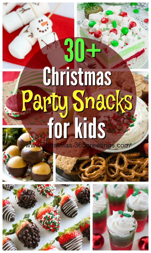 Christmas Party Snacks for Kids - Christmas Celebration - All about ...
