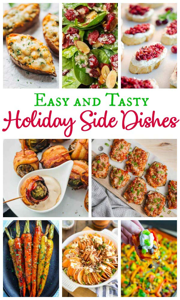 37 Easy Christmas Side Dishes Recipes