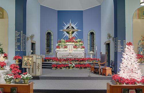 30+ Church Christmas Decorations Ideas and Images - Christmas ...