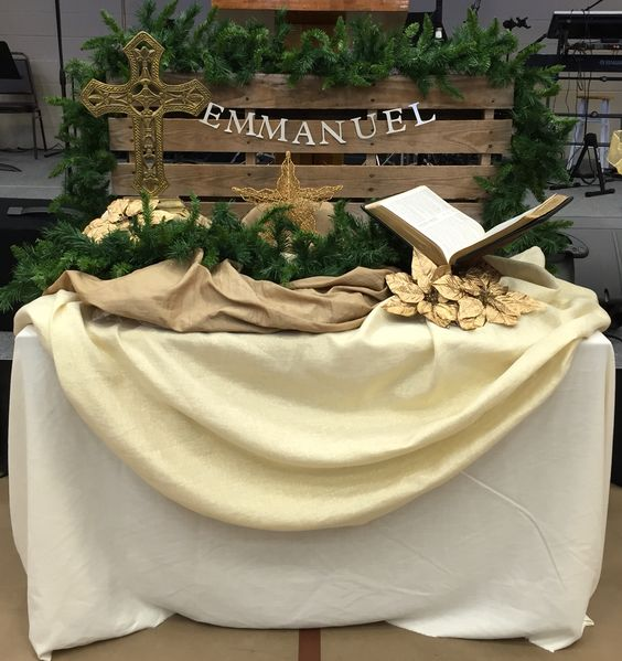 30+ Church Christmas Decorations Ideas And Images