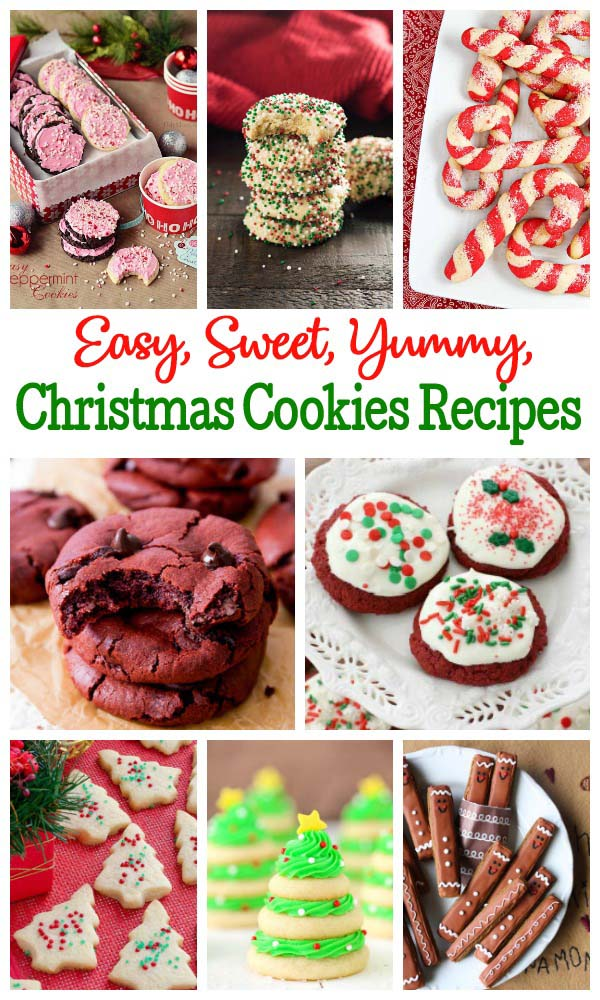 Easy Christmas Cookies Recipes With Picture Christmas Celebration