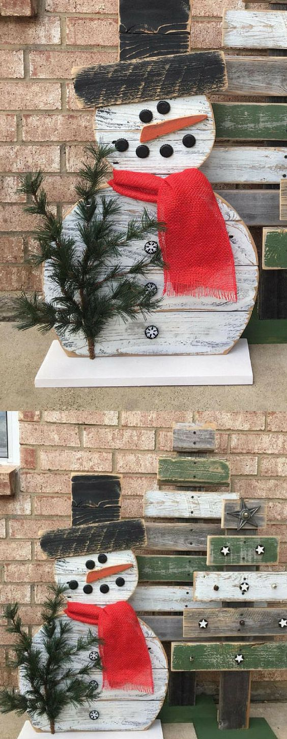 Outdoor Snowman Christmas Decorations - Christmas Celebration - All About Christmas