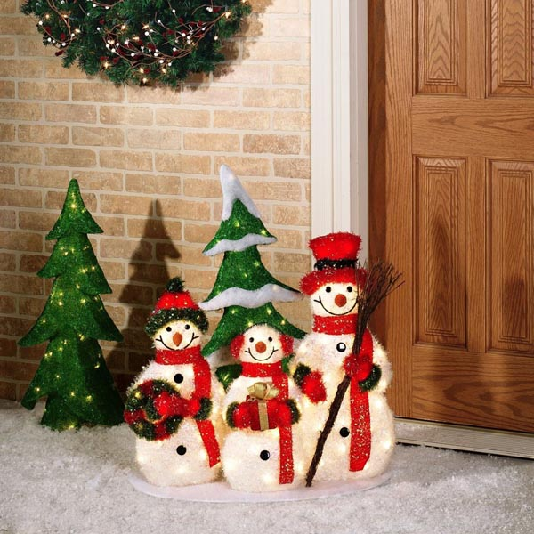 Outdoor Snowman Christmas Decorations - Christmas Celebration - All ...