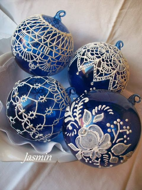 Painted Christmas Ornaments - Christmas Celebration - All ...