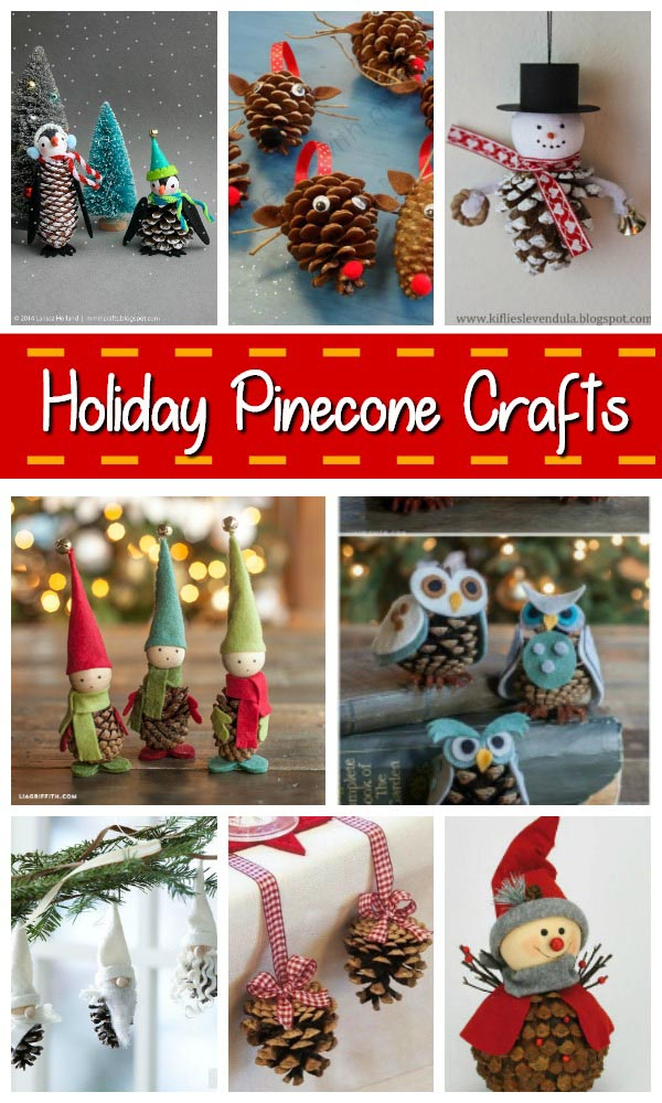35 Creative Pinecone Christmas Crafts - Christmas Celebration - All ...