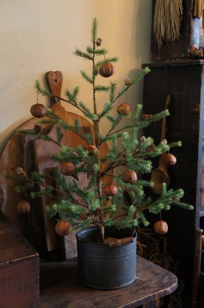 Stunning Primitive Christmas Decorations Ideas - Christmas ...