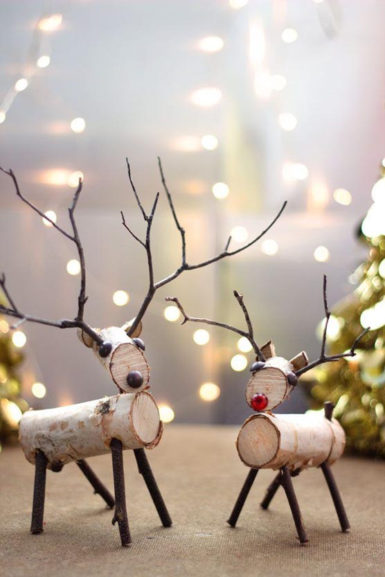 Reindeer Christmas Decorations Christmas Celebration All About Christmas