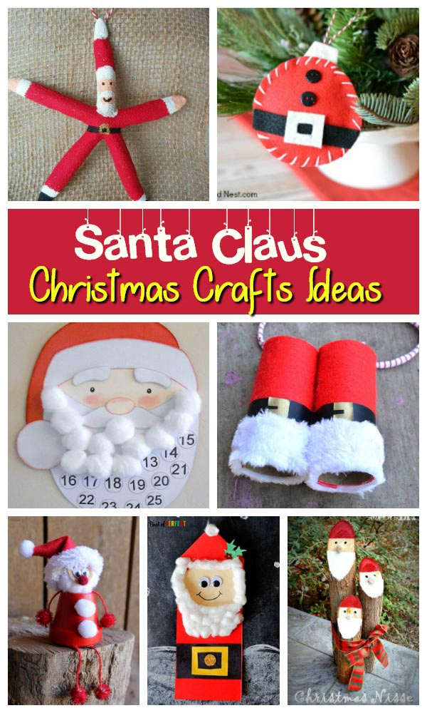 Trendy And Exciting Santa Craft Ideas For The Holidays Christmas