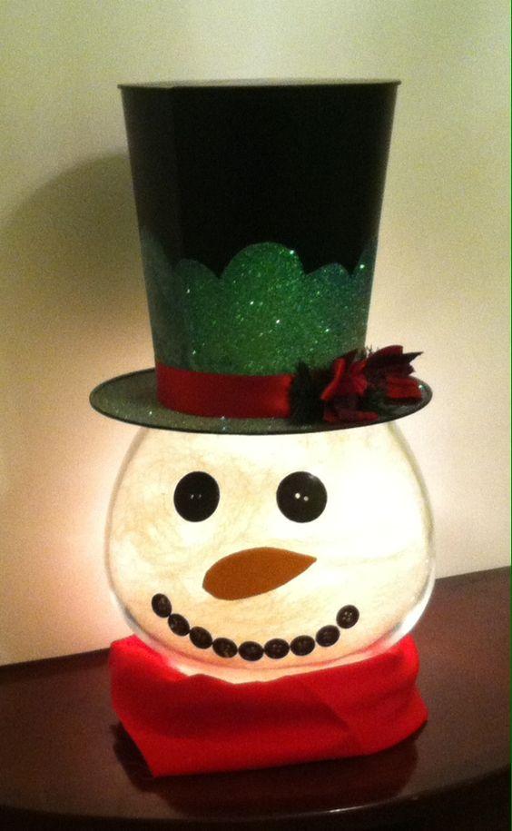 Snowman Christmas Crafts Christmas Celebration All