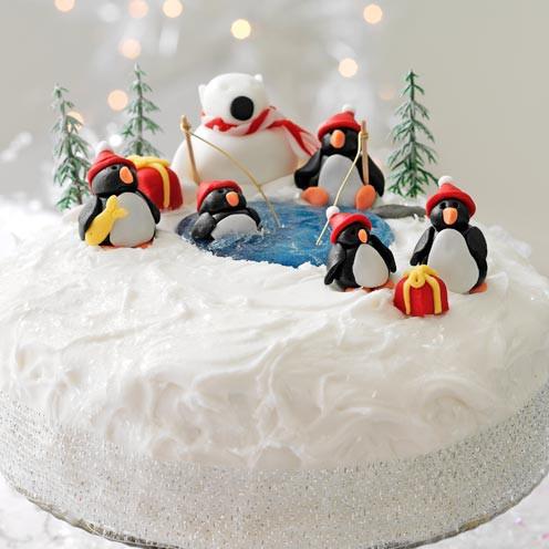 Christmas Cake Decoration Ideas Easy