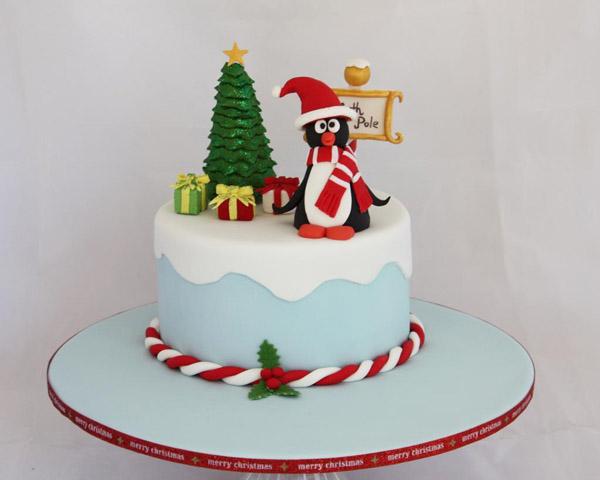 Penguin Cake: