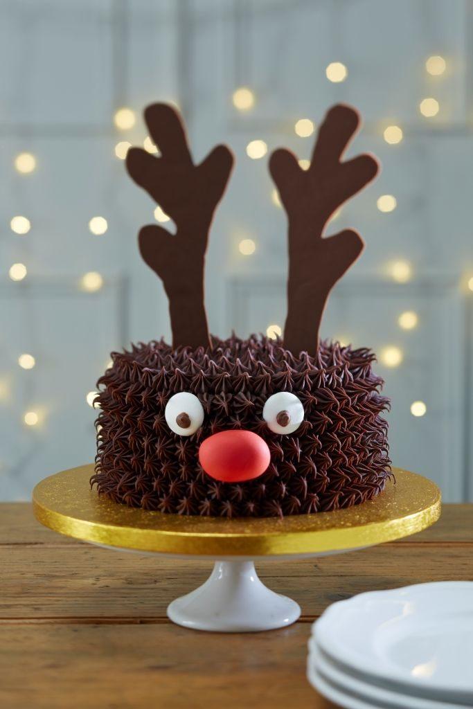 Chocolate Cake Christmas Decoration Ideas
