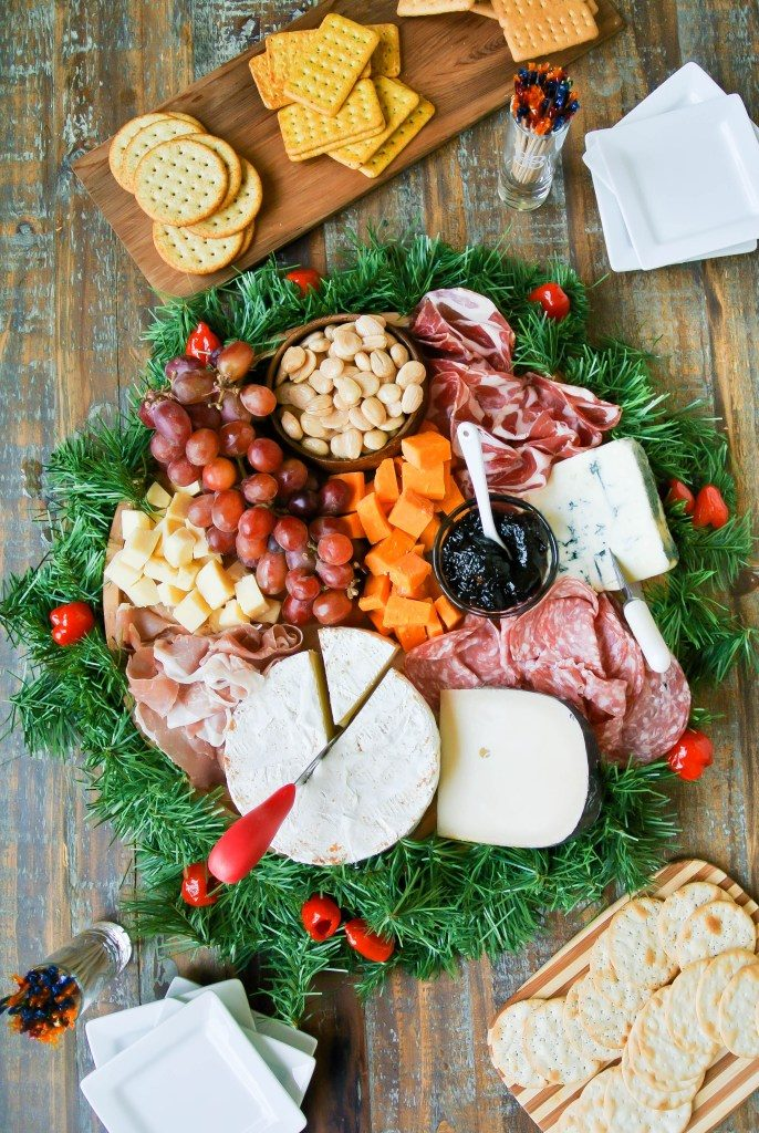 christmas platter ideas