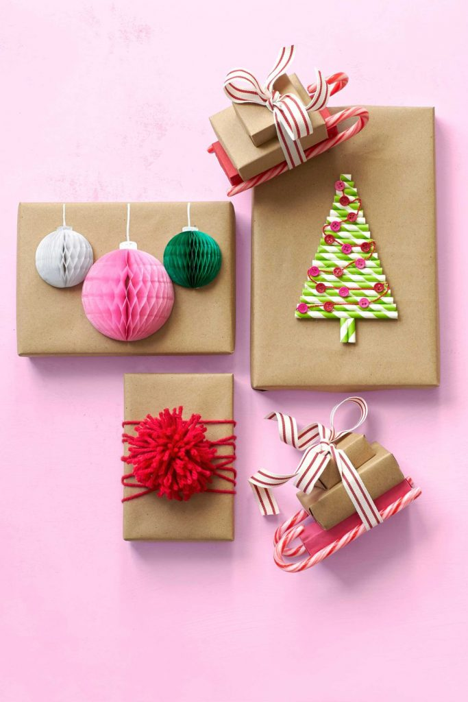 Colorful Christmas crafts