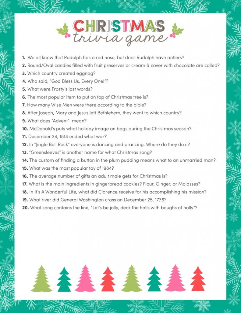family christmas party games - Family Games To Play At Christmas