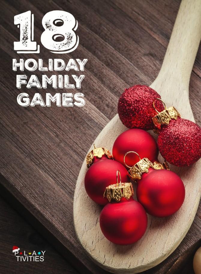 15 Fun Family Christmas Party Games