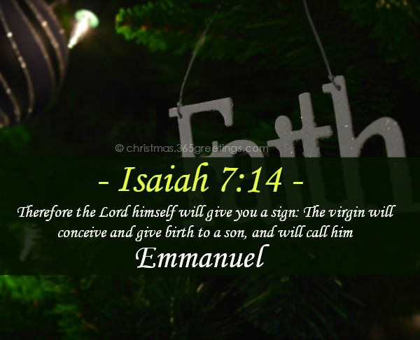 40+ Christmas Bible Verses with Images - Christmas Celebration - All ...