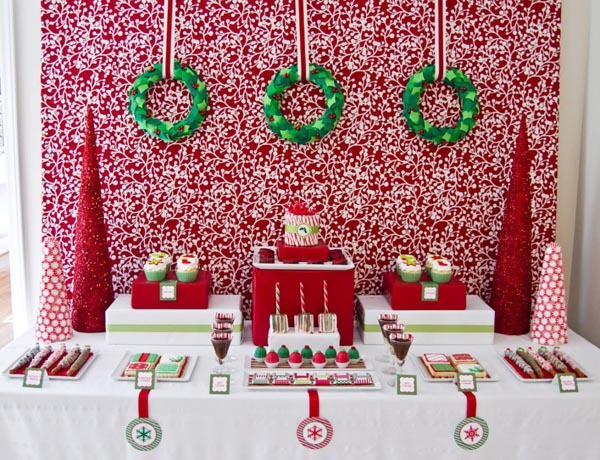 Beautiful Christmas Party Decor
