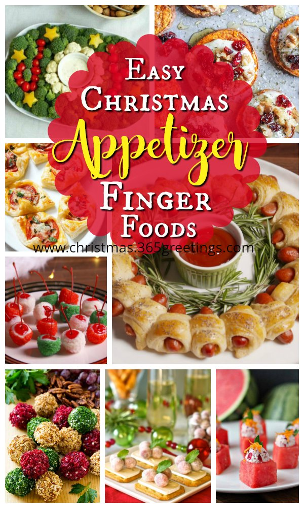 this selection of easy to make christmas appetizers and finger foods have been chosen to help make planning your christmas meals and entertaining planning