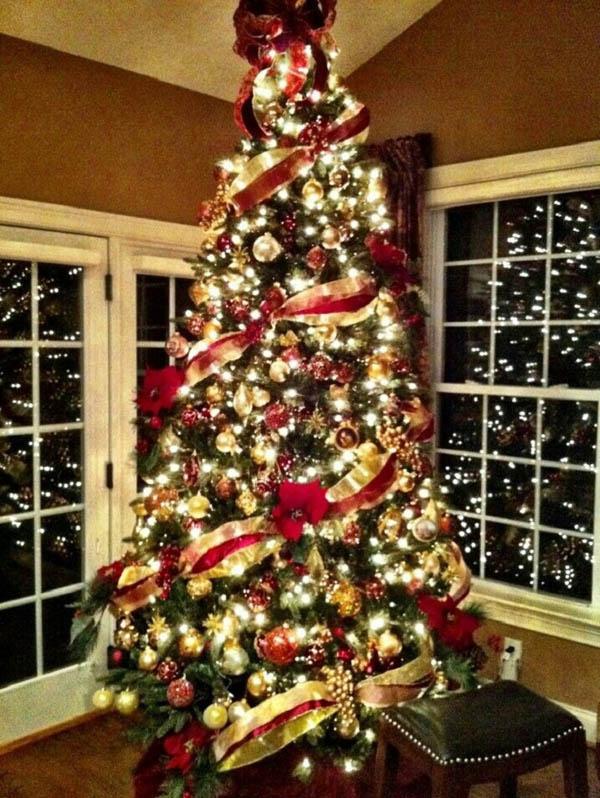 Elegant Christmas Tree Decorating Ideas - Christmas Celebration ...