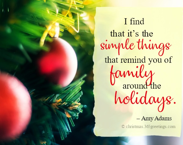 Christmas Family Quotes and Sayings - Christmas Celebration ...